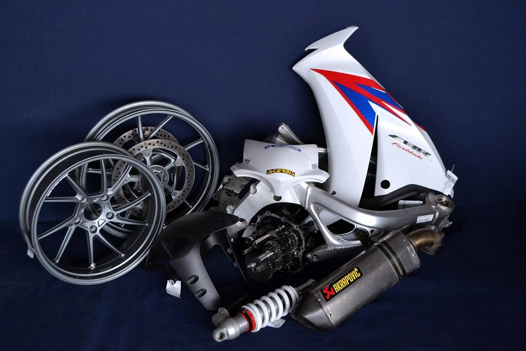 naudotos motociklu dalys
